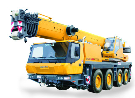 Hydraulic Cranes :: Gingerich Crane